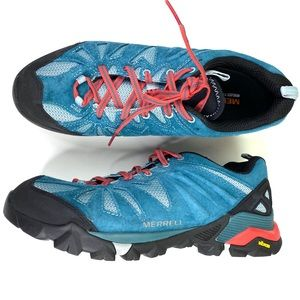 MERRELL Dragon Fly Hiking Shoes Womens Size 9